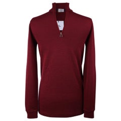 Hermes Men's Cocoon Base Layer Rouge Top M New w/ Tag