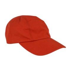 Hermes Men's Hat Paddock Equitation Cap Feu Cap 58  New