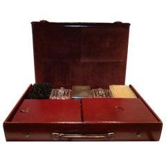 Hermes Men's Leather Deco Travel Case