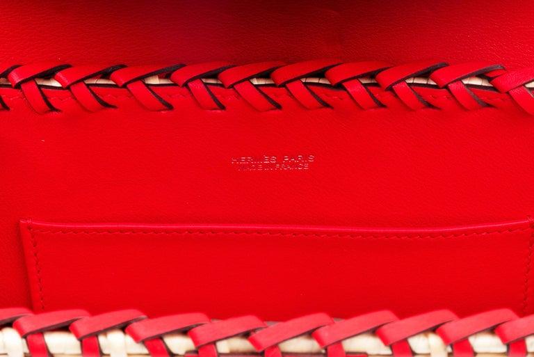 Hermes Mini Picnic Kelly Bag Rouge de Coeur 20cm For Sale 1