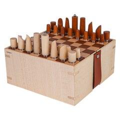 Hermes Mini Samarcande Chess Set Let's Play! New w/ Box