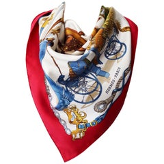 Hermes Musee Vintage Scarf by Philippe Ledoux