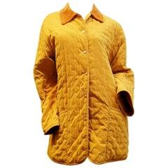 Hermes Mustard Paddock Jacket