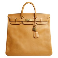 Hermès Natural Ardennes Leather HAC 45 cm Bag