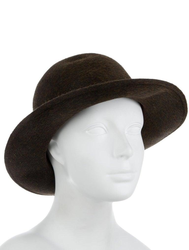 Size listed 56 Wool Leather trim Brim 2.5