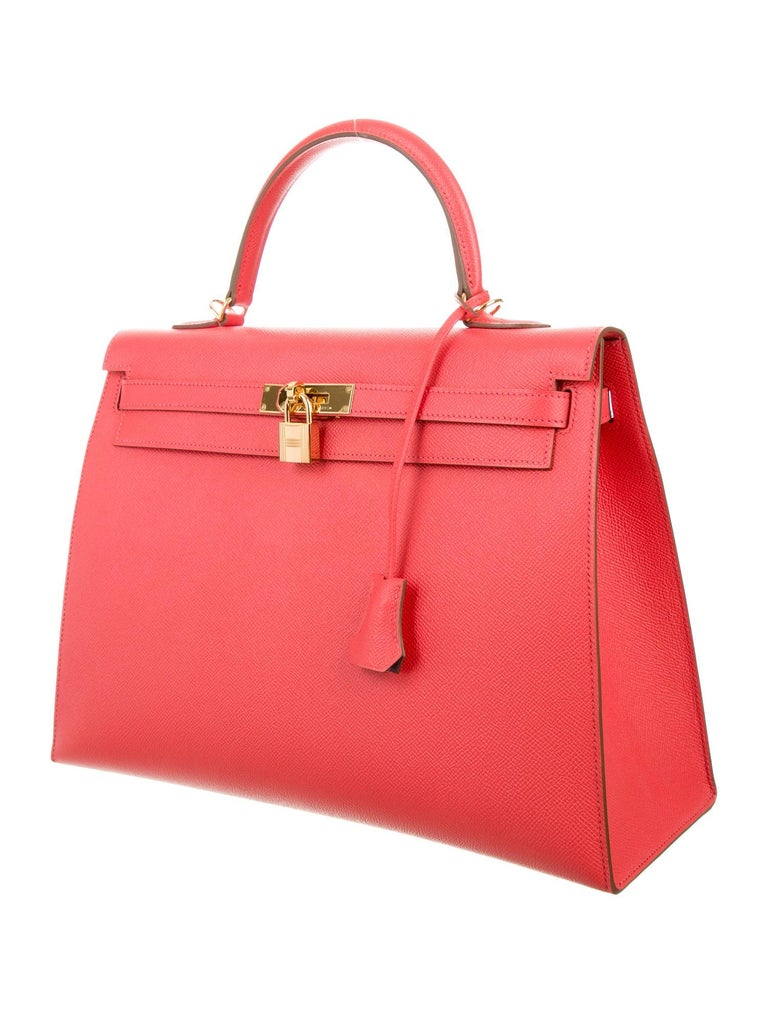 Own a Special Order Hermes Kelly Without Waiting.  The process to secure a special order Hermes Kelly bag in any color or leather is long. The opportunity to own one in the most popular and rare color, Rose Jaipur, is even more daunting.  Now is