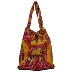 Hermès Noisette Danse De Cheval Pop Bag