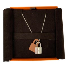 Hermes O'Kelly pendant, small model Gold Necklace