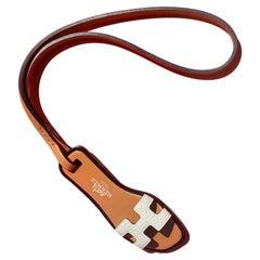 Hermès Oran Nano Sandal Shoe Leather Bag Charm White Nata