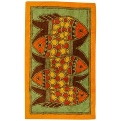 Hermès Orange Fish Beach Towel