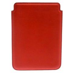 Hermes Orange Swift Leather Mini iPad Cover