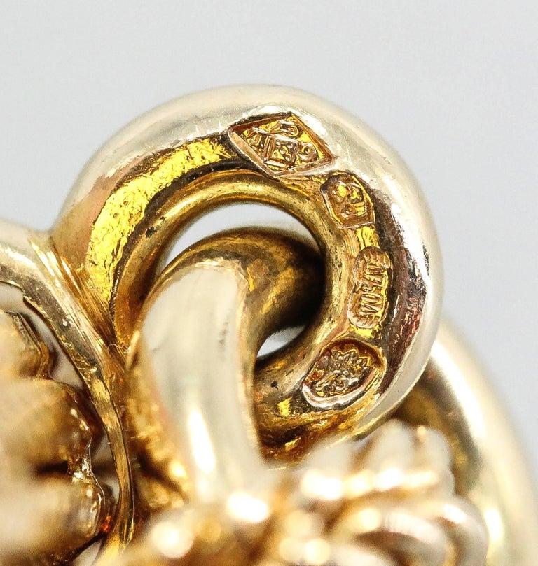 Hermès Paris Chaine D'Ancre Toggle Link 18 Karat Yellow Gold Wristwatch For Sale 1