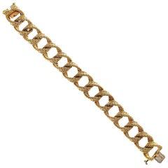 Hermes Paris Gold Bracelet