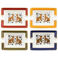 Hermès-Paris Jaguar Ash Trays