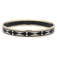 Hermes Paris Multi-Colored Abstract Bangle