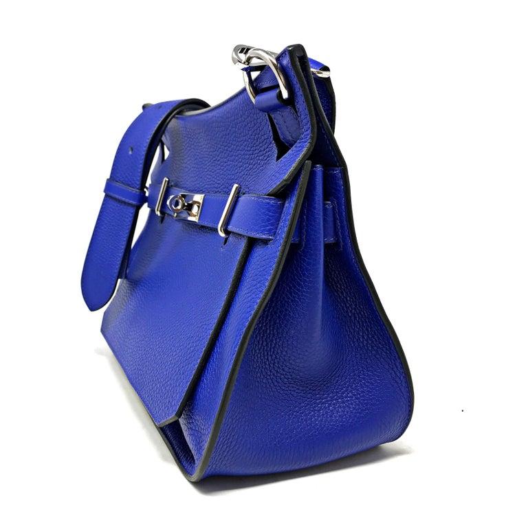 HERMES PARIS Sac Jipsyere Blue Electric brand new, 2018  For Sale 1