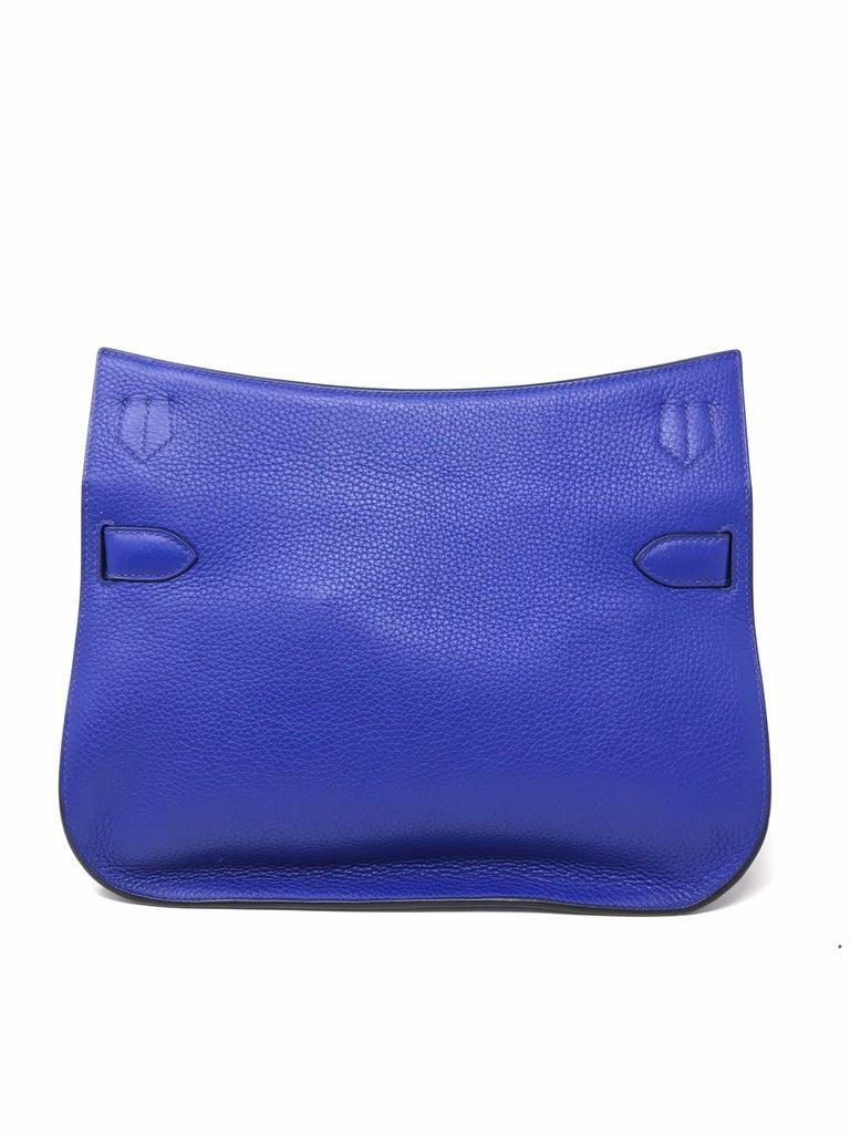 HERMES PARIS Sac Jipsyere Blue Electric brand new, 2018  For Sale 3
