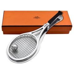 Hermes Paris Tennis Racquet Paper Clip