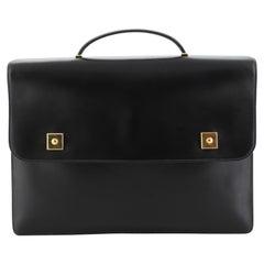 Hermes Piano Briefcase Box Calf