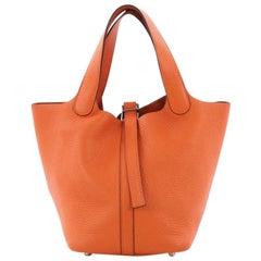 Hermes Picotin Handbag Togo PM