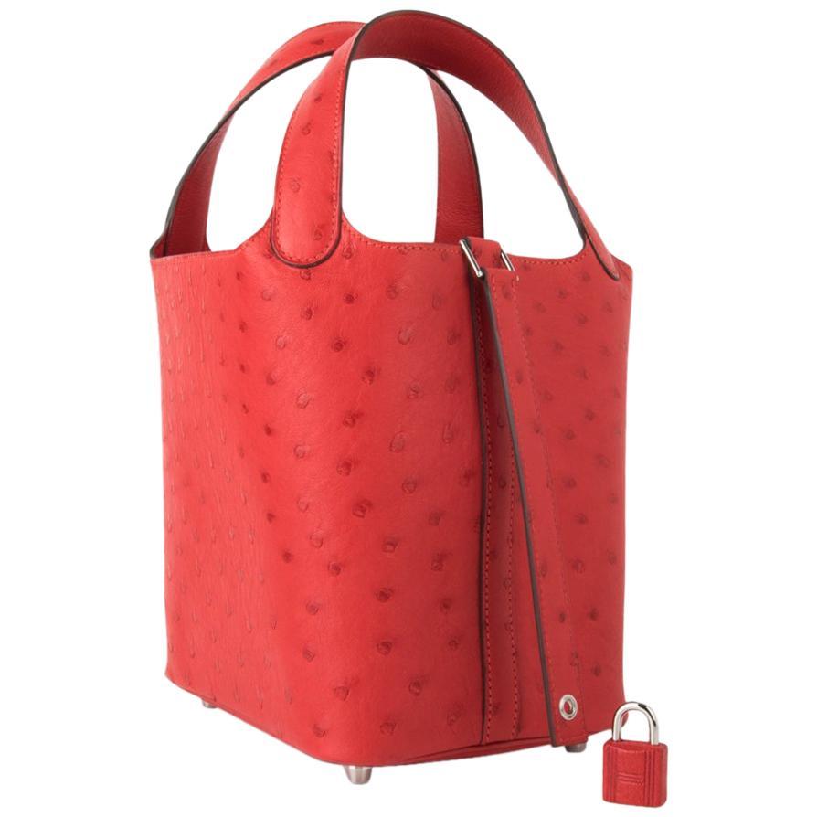 89d29ff38b3b Red Hermes Bags - 236 For Sale on 1stdibs