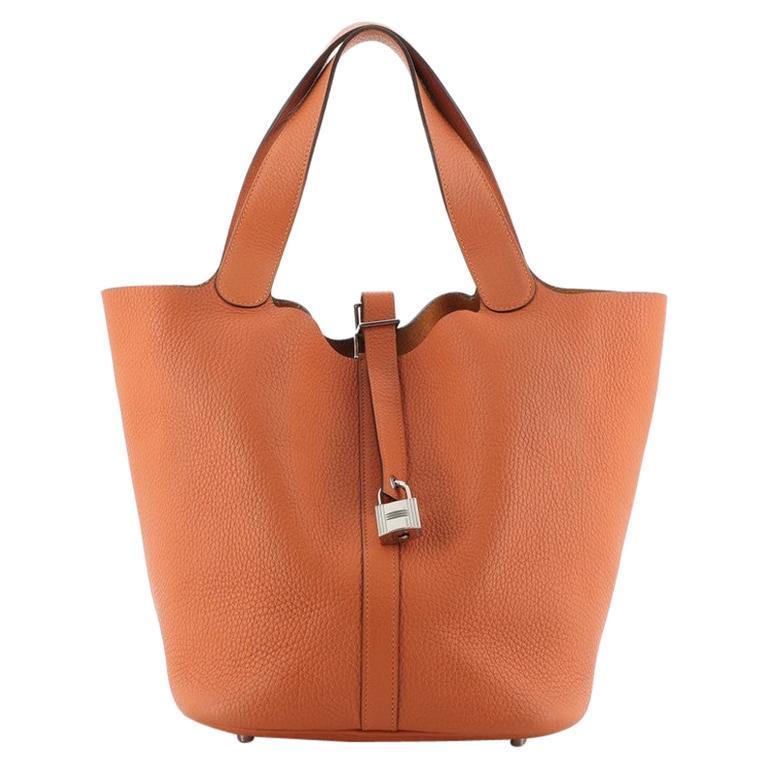 Hermes Picotin Lock Bag Clemence PM