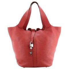 Hermes Picotin Lock Bag Clemence TGM
