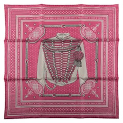 Hermès Pink Bandana Brandebourg
