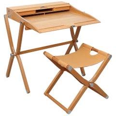 Hermès Pippa Folding Desk and Stool