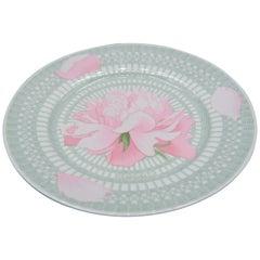 """Hermès """"Pivoines"""" Dinner, Limoges Porcelain, 1 Plate 'different models'"""
