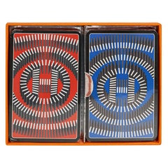 Hermes Playing Cards Limited Edition Set 2 Decks New w/ Box