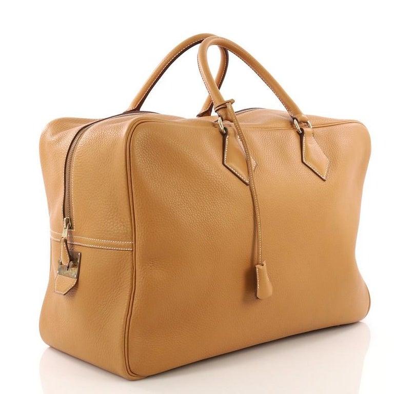 65c350e3fc92 Brown Hermes Plume Bag Ardennes 45 For Sale
