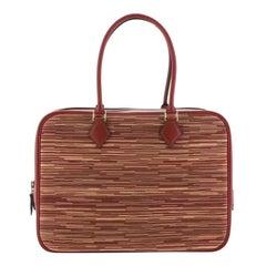 Hermes Plume Bag Vibrato and Leather 32