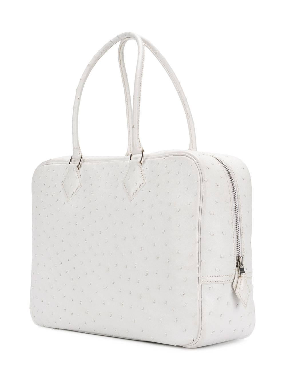 7571ceadcfa3 ... buy hermes plume white ostrich large bag 2001 at 1stdibs 05e27 eccb7 ...