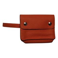 Hermès Pochette Green Belt Bag