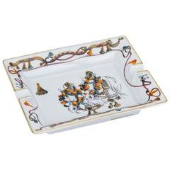 Hermes Pompom Horse Porcelain Ashtray