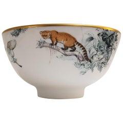 "Hermès Porcelain ""Carnets d'Equateur"" Bowl, France, Modern"