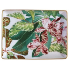 """Hermès Porcelain """"Passifolia"""" Small Charge Tray, France, 2020"""