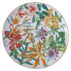 "Hermès Porcelain ""Passifolia"" Tart Platter, France, 2020"