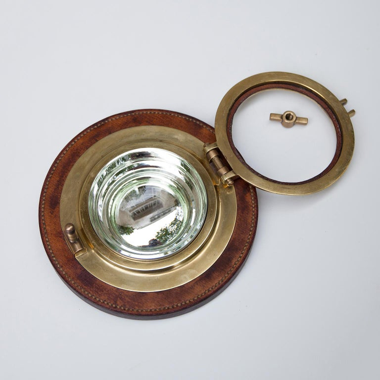 Hermes Porthole Bowl Signed, 1970s In Good Condition For Sale In Munich, DE