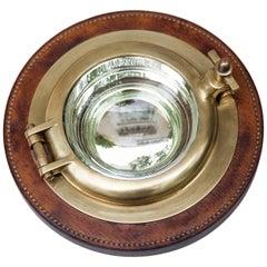 Hermes Porthole Bowl Signed, 1970s
