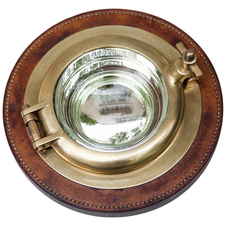 Hermes Porthole Bowl Signed, 1970s For Sale