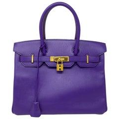 Hermès Purple Birkin 30