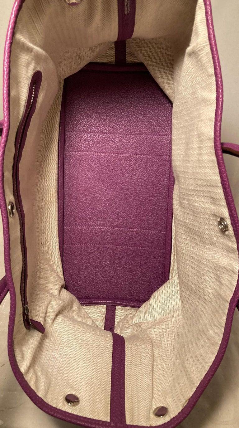 Hermes Purple Garden Party PM  For Sale 2