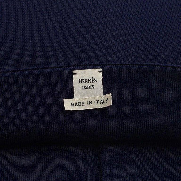 Hermes Purple Silk and Polyamide Wide Corset Belt Size EU 40 For Sale 1