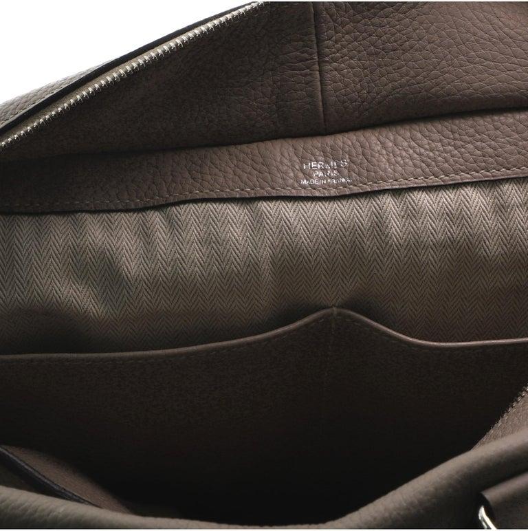 Hermes Pursangle Bag Leather 35 For Sale 8