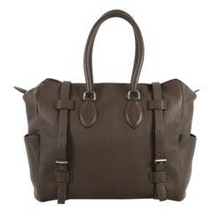 Hermes Pursangle Handbag Leather 35