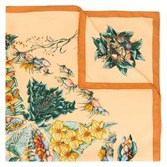 Hermès 'Pythagore' Silk Print Scarf