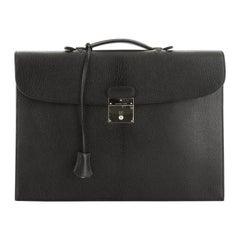 Hermes Quirus Briefcase Chevre De Coromandel