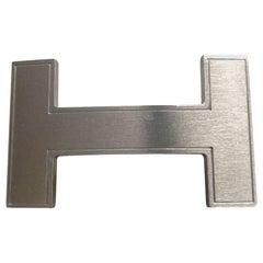 HERMES Quiz Brushed Metal Buckle 32 mm